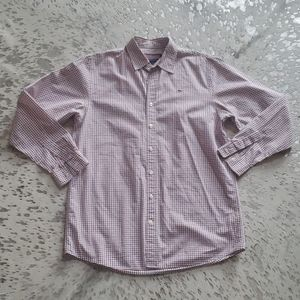 Vineyard Vines Boys XL (20) Whale Shirt Plaid